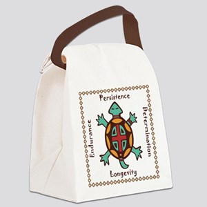 Turtle animal spirit Canvas Lunch Bag