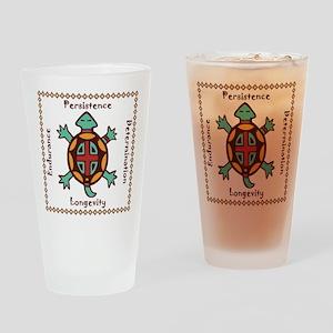 Turtle animal spirit Drinking Glass