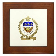 GIONET Family Crest Framed Tile