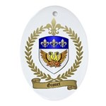GIONET Family Crest Oval Ornament