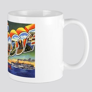 La Crosse Wisconsin Greetings Mug