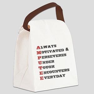 A.M.P.U.T.E.E. Canvas Lunch Bag