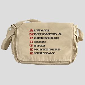 A.M.P.U.T.E.E. Messenger Bag
