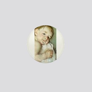 Mary Cassatt's The Young Moth Mini Button