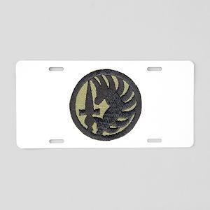 Foreign Legion Para Aluminum License Plate