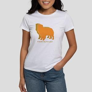 Australian Shepherd Double Dog Women's T-Shirt