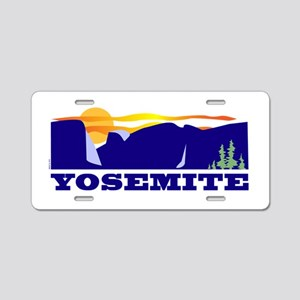 Yosemite National Park Aluminum License Plate