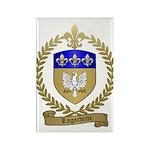 LAGACHETTE Family Crest Rectangle Magnet
