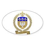 LAGACHETTE Family Crest Oval Sticker