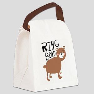 ring bear-er Canvas Lunch Bag