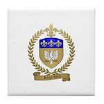 LAGACHETTE Family Crest Tile Coaster