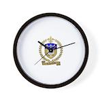 LAGACHETTE Family Crest Wall Clock