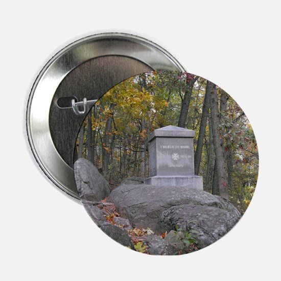 """20th Maine Monument 2.25"""" Button"""