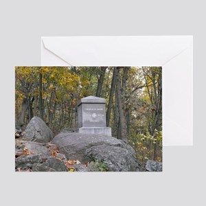 20th Maine Monument Greeting Card