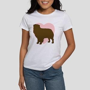 Australian Shepherd Heart Women's T-Shirt