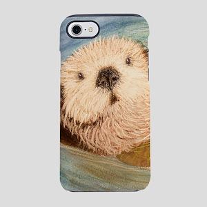 Sea Otter--Endangered Species iPhone 7 Tough Case