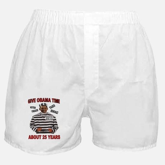 Unique Obama birther Boxer Shorts