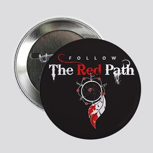 """Red Path 2.25"""" Button"""