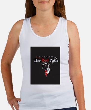 Red Path Women's Tank Top