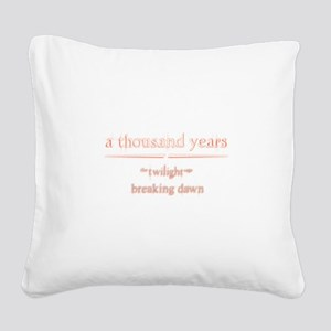 Twilight Saga Square Canvas Pillow