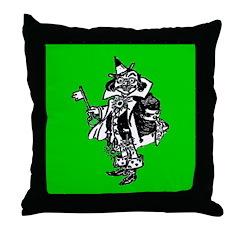Guardian of the Gates Throw Pillow
