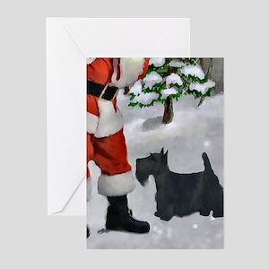 Scottish Terrier Christm Greeting Cards (Pk of 20)