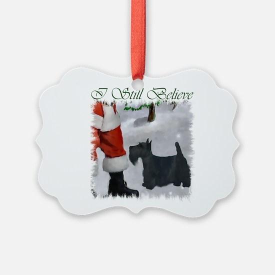 Scottish Terrier Christmas Ornament