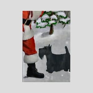 Scottish Terrier Christ Rectangle Magnet (10 pack)