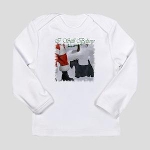 Scottish Terrier Christ Long Sleeve Infant T-Shirt