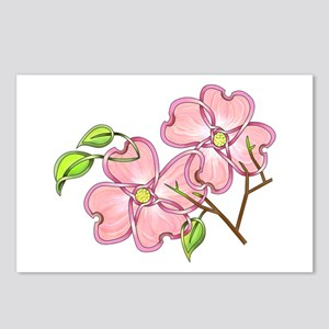 Pink Dogwood Postcards (Package of 8)