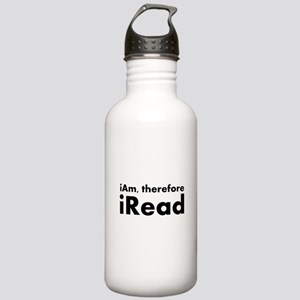 I am therefore I read Water Bottle
