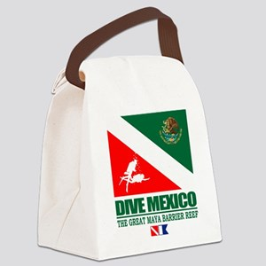 Dive Mexico Canvas Lunch Bag