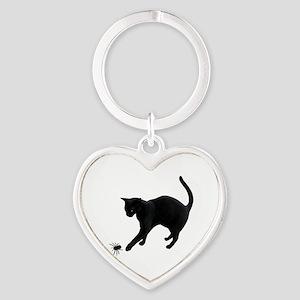 Black Cat Spider Keychains