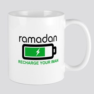 ramadan recharge your iman Mugs