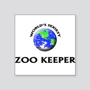 World's Sexiest Zoo Keeper Sticker