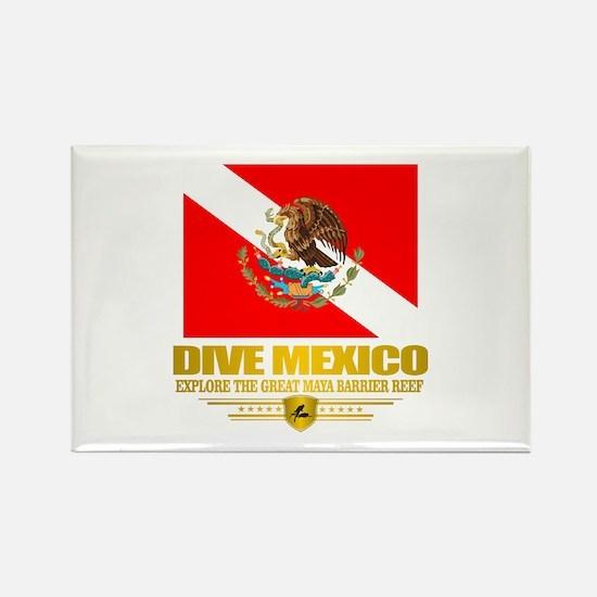 Dive Mexico 2 Rectangle Magnet