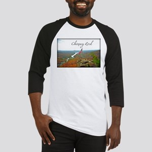 Chimney Rock with Text Baseball Jersey