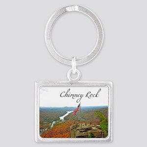 Chimney Rock with Text Keychains