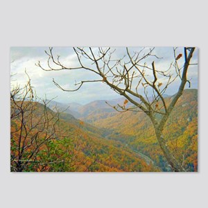 Hiking Through Chimney Rock Postcards (Package of