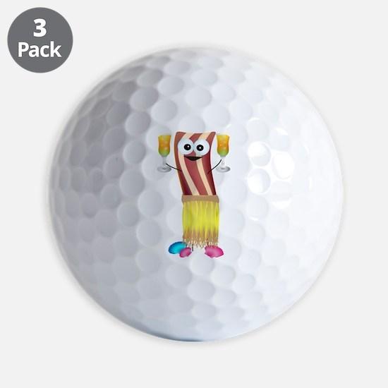 Bahama Bacon Golf Ball