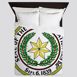 Seal of Cherokee Nation Queen Duvet