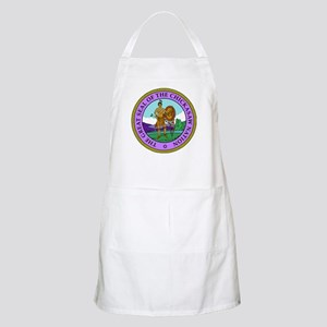 The Great Seal of the Chickasaw Nation Apron
