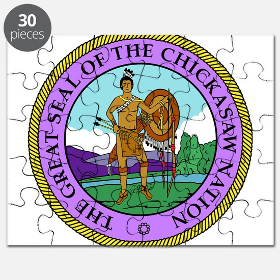 The Great Seal of the Chickasaw Nation Puzzle