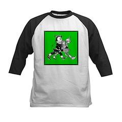 Scarecrow, Tin Man & Dorothy Kids Baseball Jersey