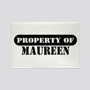 Property of Maureen Rectangle Magnet