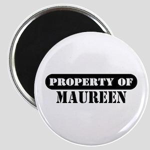 Property of Maureen Magnet