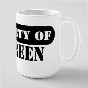 Property of Maureen Large Mug