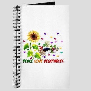 Peace Love Vegetables Journal
