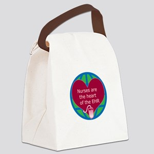 Heart of EHR Canvas Lunch Bag