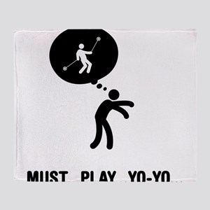 Yo-yo Player Throw Blanket